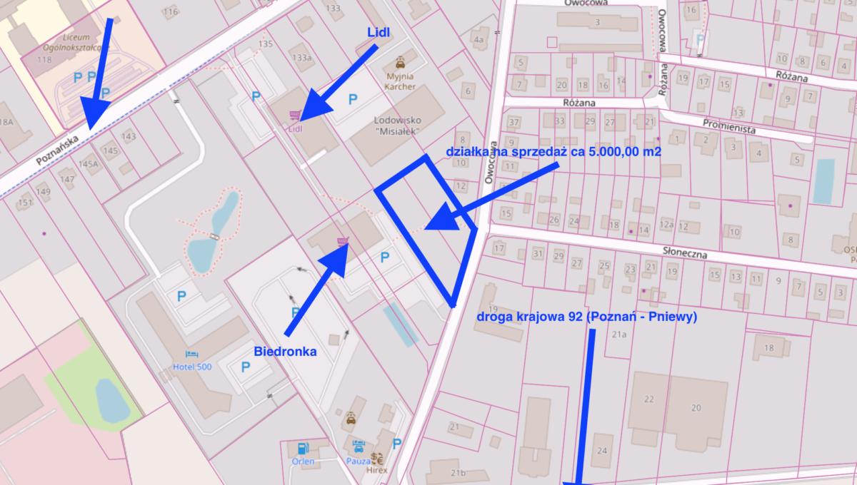Działka komercyjna Tarnowo Podgórne [1]