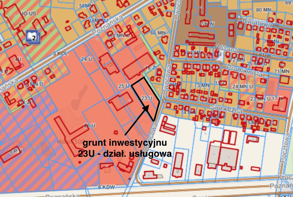 Owocowa plan zagospodarowania 30.01.2020