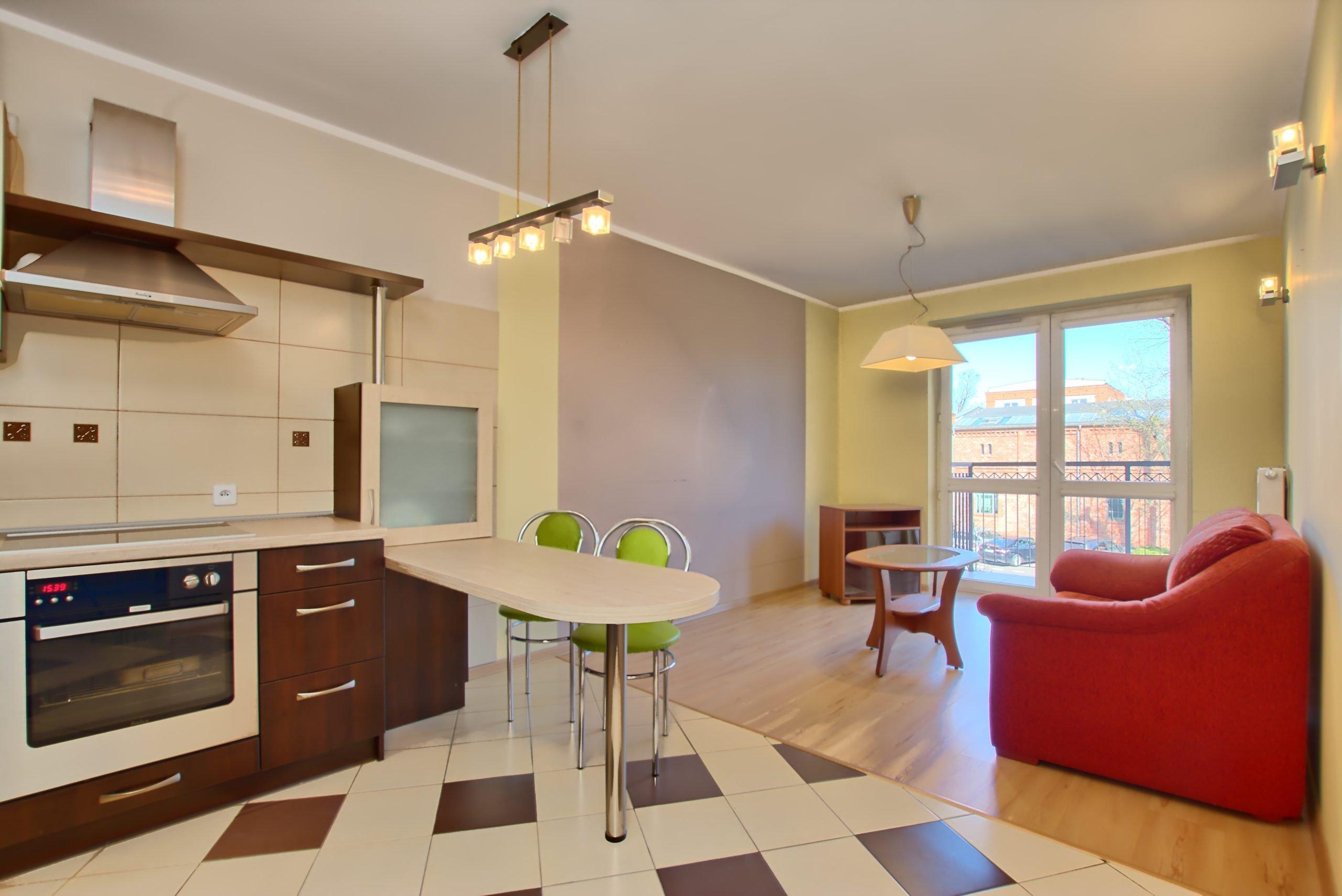 2 pokojowe mieszkanie na WYNAJEM w prestiżowej lokalizacji na Grunwaldzie