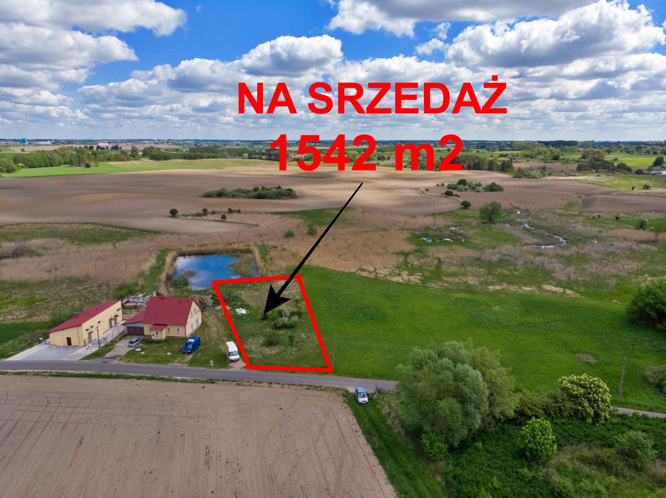 Działka budowlana na sprzedaż, 1542 m2, Karczewko, gm. Kiszkowo
