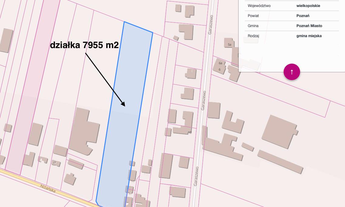 Zrzut z ekranu Geoportal 18.05.2020