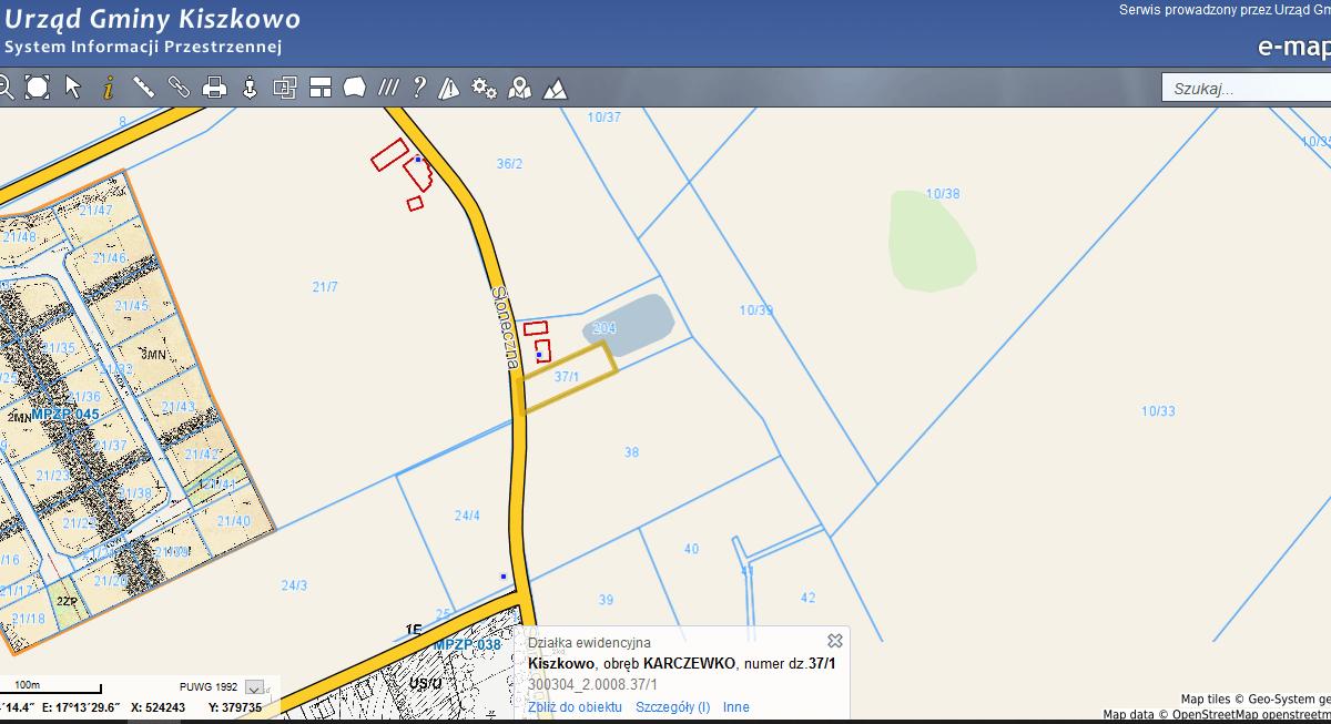 e mapa