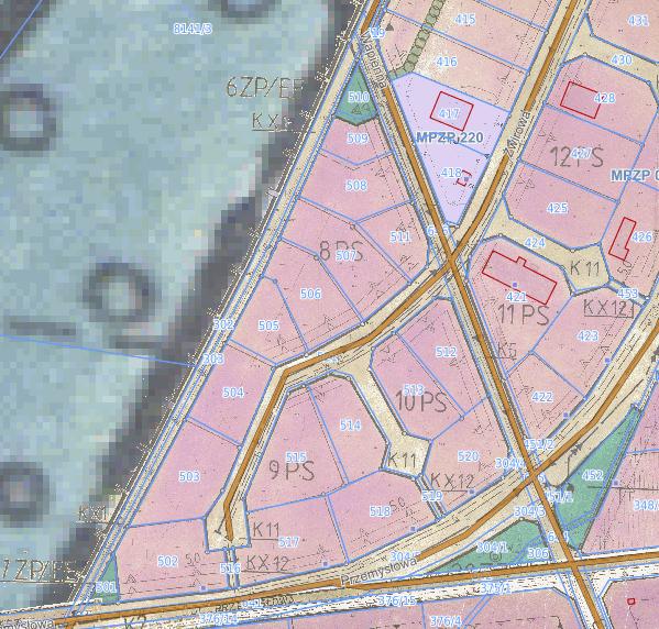 Zrzut ekranu e-mapa 17.06.2020