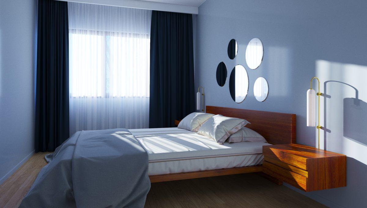 wizualizacja - sypialnia