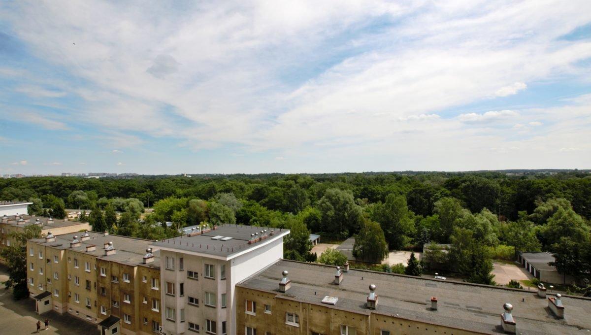 balkon widok